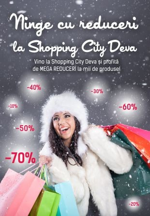 Ninge cu reduceri la Shopping City Deva