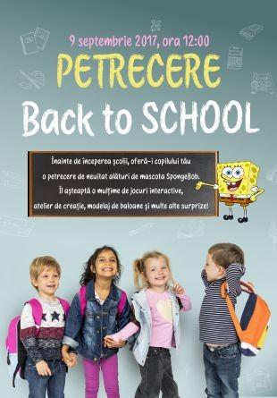 Înainte de școală, petreci cu Sponge Bob!